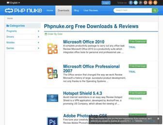 downloads.phpnuke.org screenshot