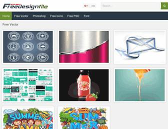 Thumbshot of Freedesignfile.com