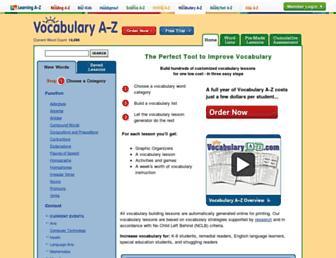 Thumbshot of Vocabularya-z.com