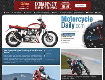 Thumbshot of Motorcycledaily.com