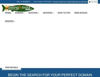 Thumbshot of Hostinginindia.com
