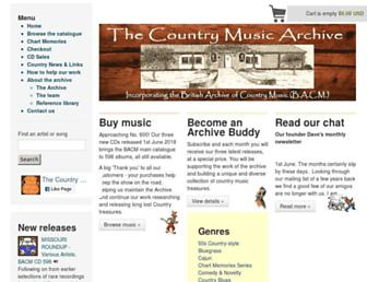 country-music-archive.com screenshot