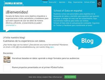 es.schoolofdata.org screenshot
