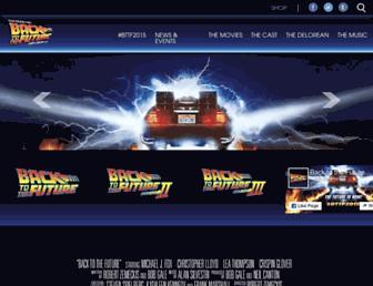 backtothefuture.com screenshot