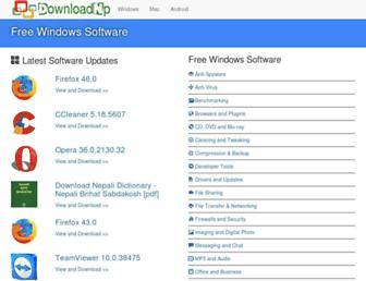 software.downloadnp.com screenshot