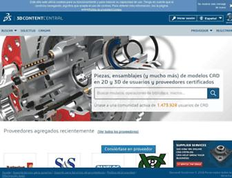 3dcontentcentral.es screenshot