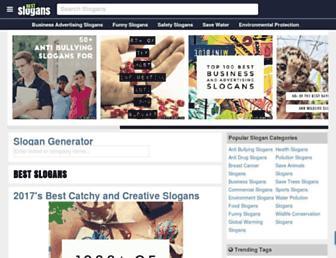 bestslogans.com screenshot