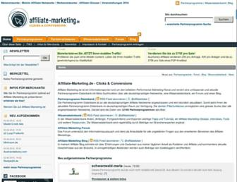 affiliate-marketing.de screenshot