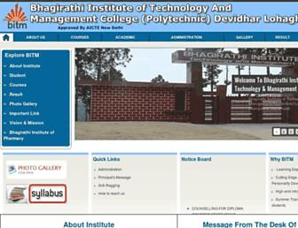bhagirathiinstitute.com screenshot