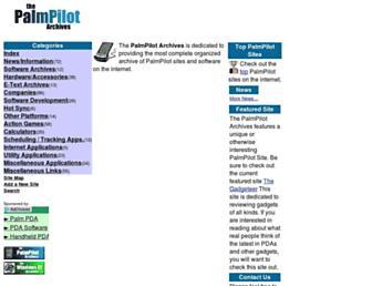 pda-archives.com screenshot