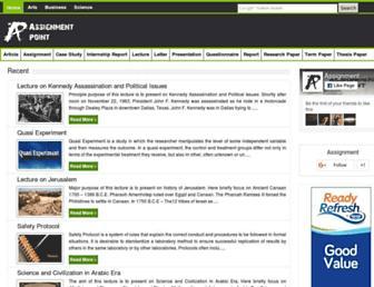 assignmentpoint.com screenshot