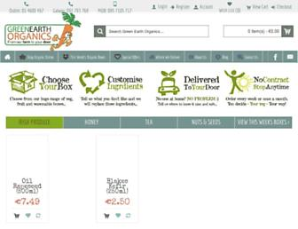 greenearthorganics.ie screenshot