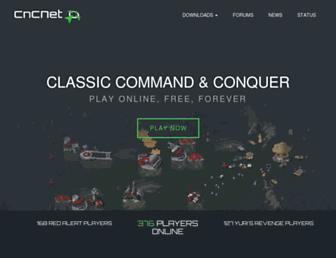 cncnet.org screenshot