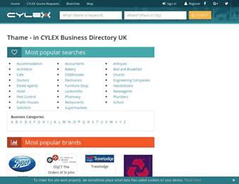 thame.cylex-uk.co.uk screenshot