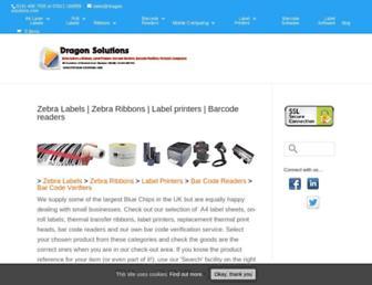 dragon-solutions.com screenshot