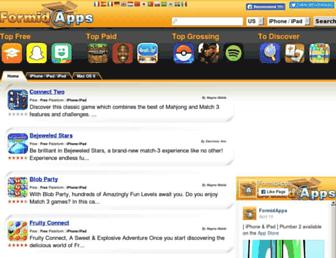 br.formidapps.com screenshot