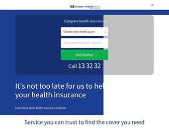 comparethemarket.com.au screenshot