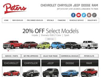 peterscars.com screenshot