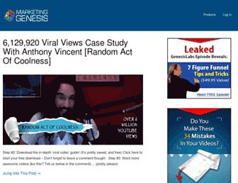 Thumbshot of Marketinggenesis.com