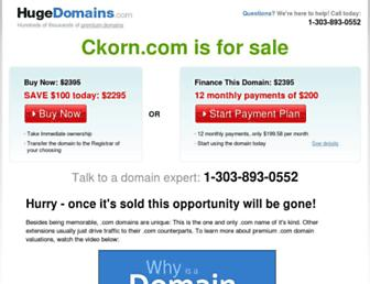 Thumbshot of Ckorn.com