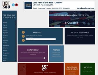 legal500.com screenshot