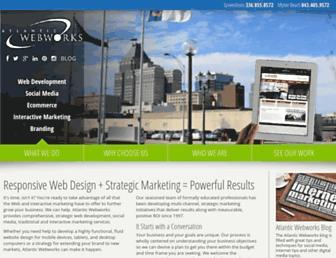 atlanticwebworks.com screenshot