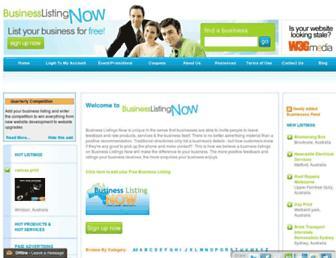 Thumbshot of Businesslistingnow.com
