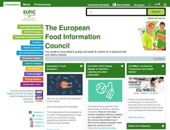 Thumbshot of Eufic.org