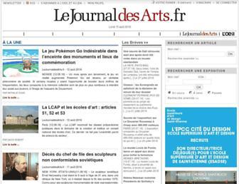 Thumbshot of Lejournaldesarts.fr