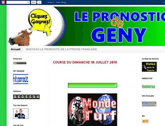 lepronosticdegeny.blogspot.com screenshot