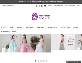 kemedress.com screenshot