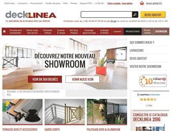 deck-linea.com screenshot