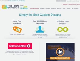 zilliondesigns.com screenshot