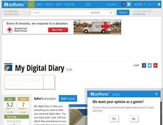 my-digital-diary.en.softonic.com screenshot