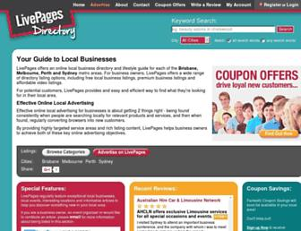 Thumbshot of Livepages.com.au