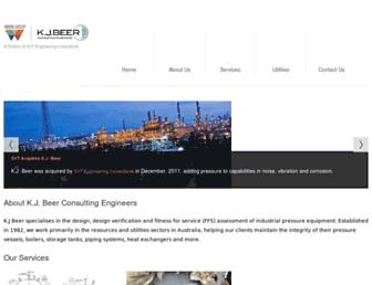 kjbeer.com.au screenshot