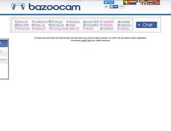 bazoocam.org screenshot
