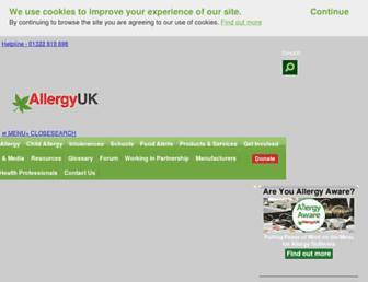 Thumbshot of Allergyuk.org