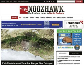 Thumbshot of Noozhawk.com