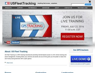 usfleettracking.com screenshot