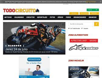 todocircuito.com screenshot