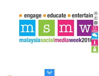 Thumbshot of Socialmediaweek.com.my