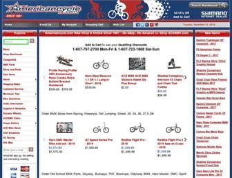 americancycle.com screenshot