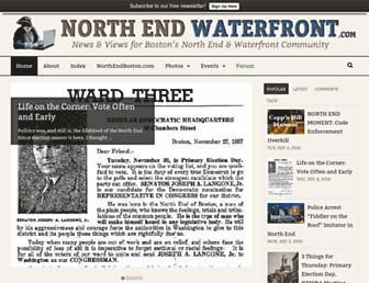 northendwaterfront.com screenshot