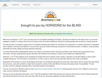 Thumbshot of Directionsforme.org