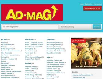 admag.com screenshot