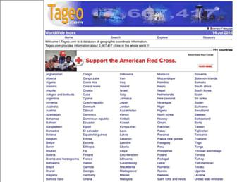 tageo.com screenshot