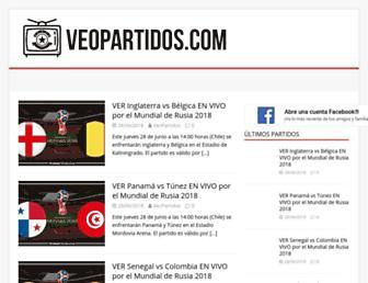 veopartidos.com screenshot