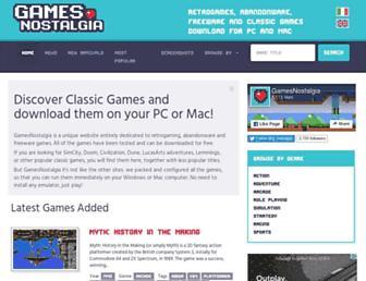 gamesnostalgia.com screenshot