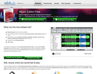 music-editor.net screenshot